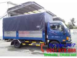 Xe Tải 1T9 Hyundai HD36L Thùng Mui Bạt