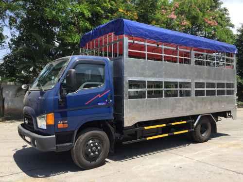 Xe chở lợn hyundai hd120s 8.5 tấn