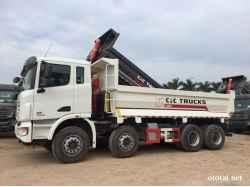 Xe tải ben 4 chân C&C U440 17 tấn, thùng ben 14.5m3