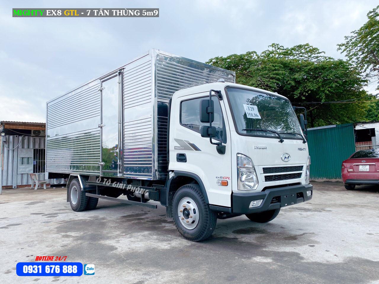 giá xe hyundai ex8 gtl thùng kín