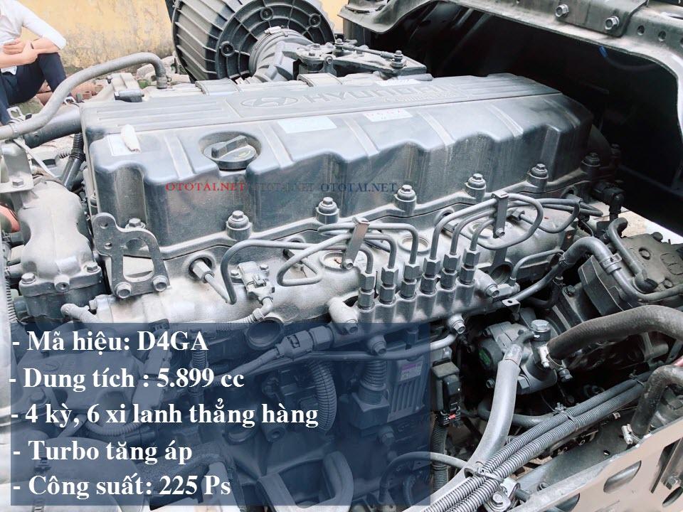 động cơ xe tải hyundai hd240