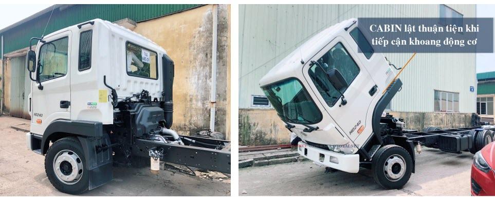 xe tải hyundai hd240