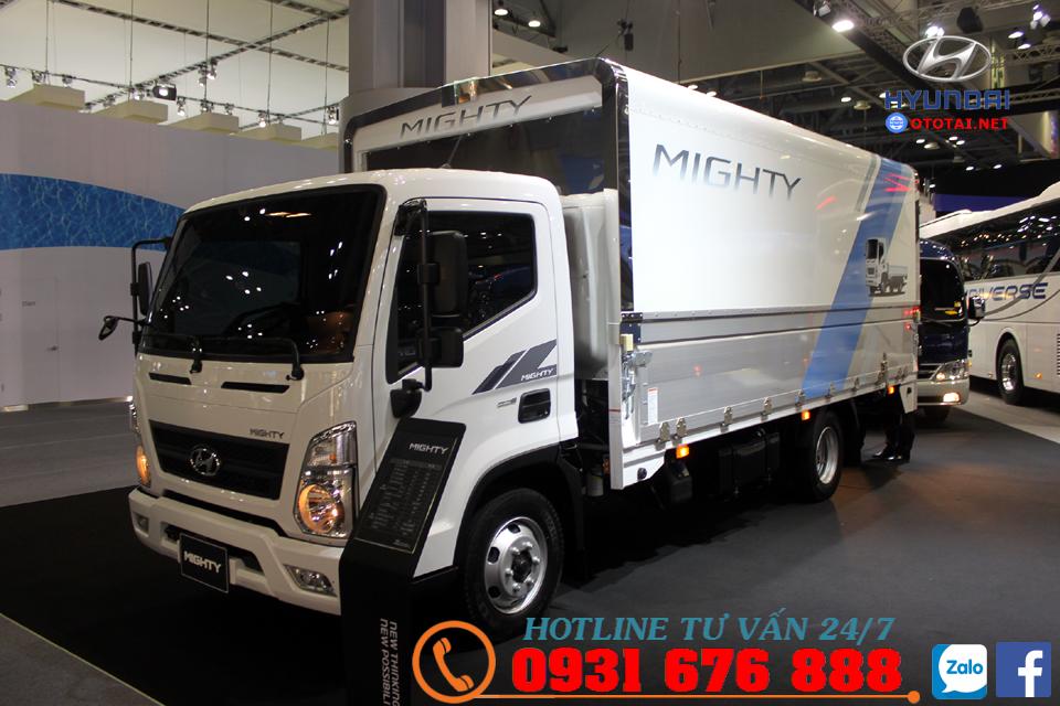 xe tải 8 tấn hyundai mighty ex8 thùng kín