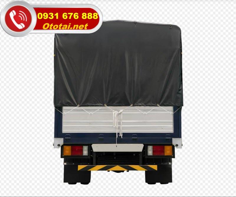 thùng xe tải iz65 thùng mui bạt