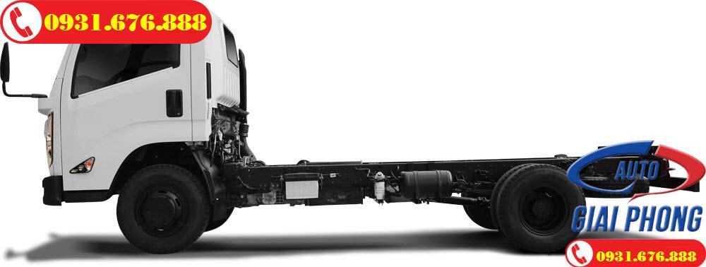 xe tải đô thành iz65 thùng mui bạt