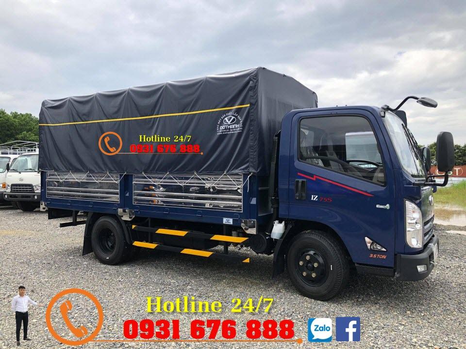 xe tải iz75s đô thành