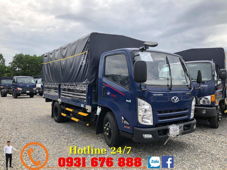 xe tải đô thành iz75s 3t5
