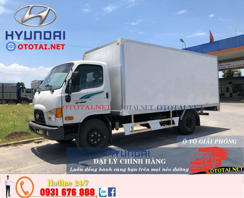 xe tải hyundai new mighty 110sl thùng kín