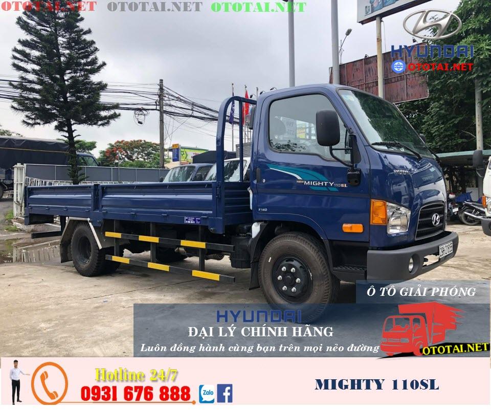 xe tải hyundai mighty 110sl thùng lửng