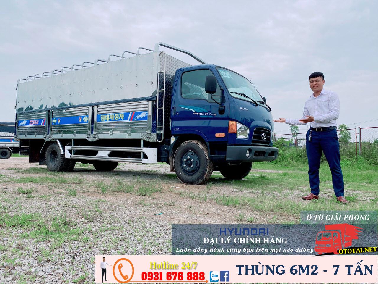 khuyến mại xe 110xl thung 6m2