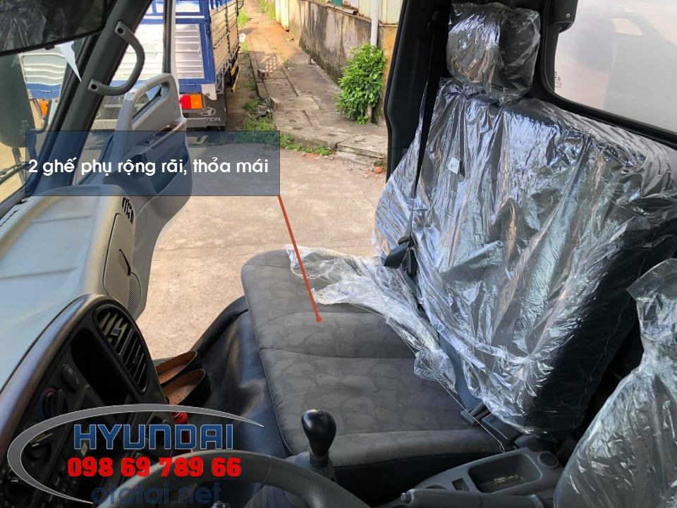 nội thất xe tải 110s thành công