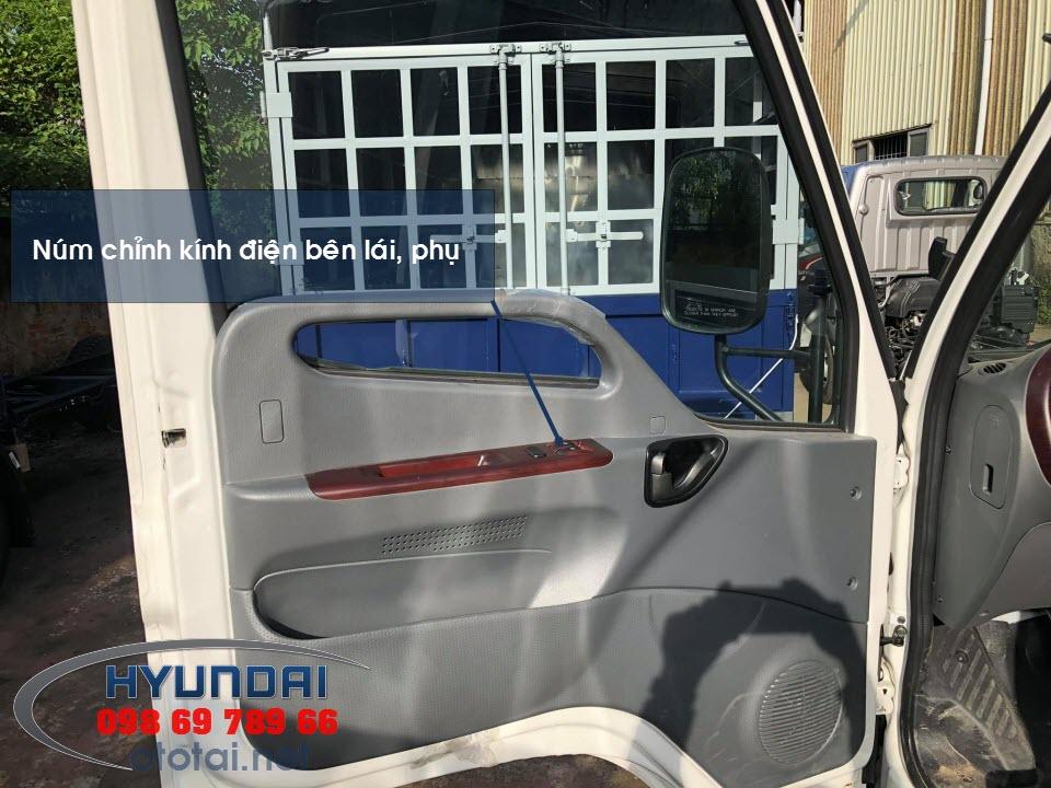 nội thất xe tải mighty 110s
