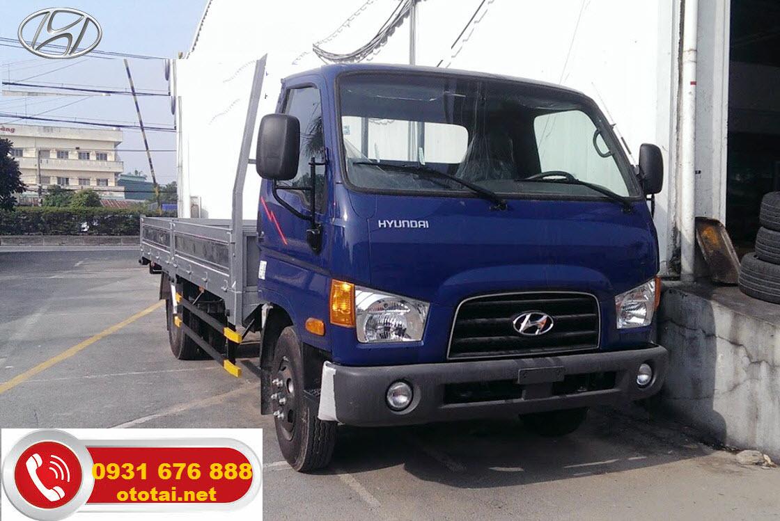 xe tải mighty 110s thùng lửng
