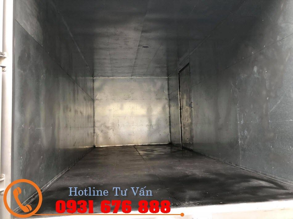 thùng kín xe hyundai 110s thành công