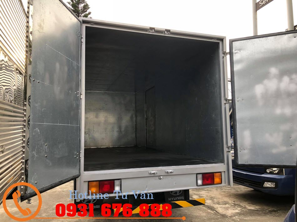 thùng kín xe hyundai mighty 110s thành công