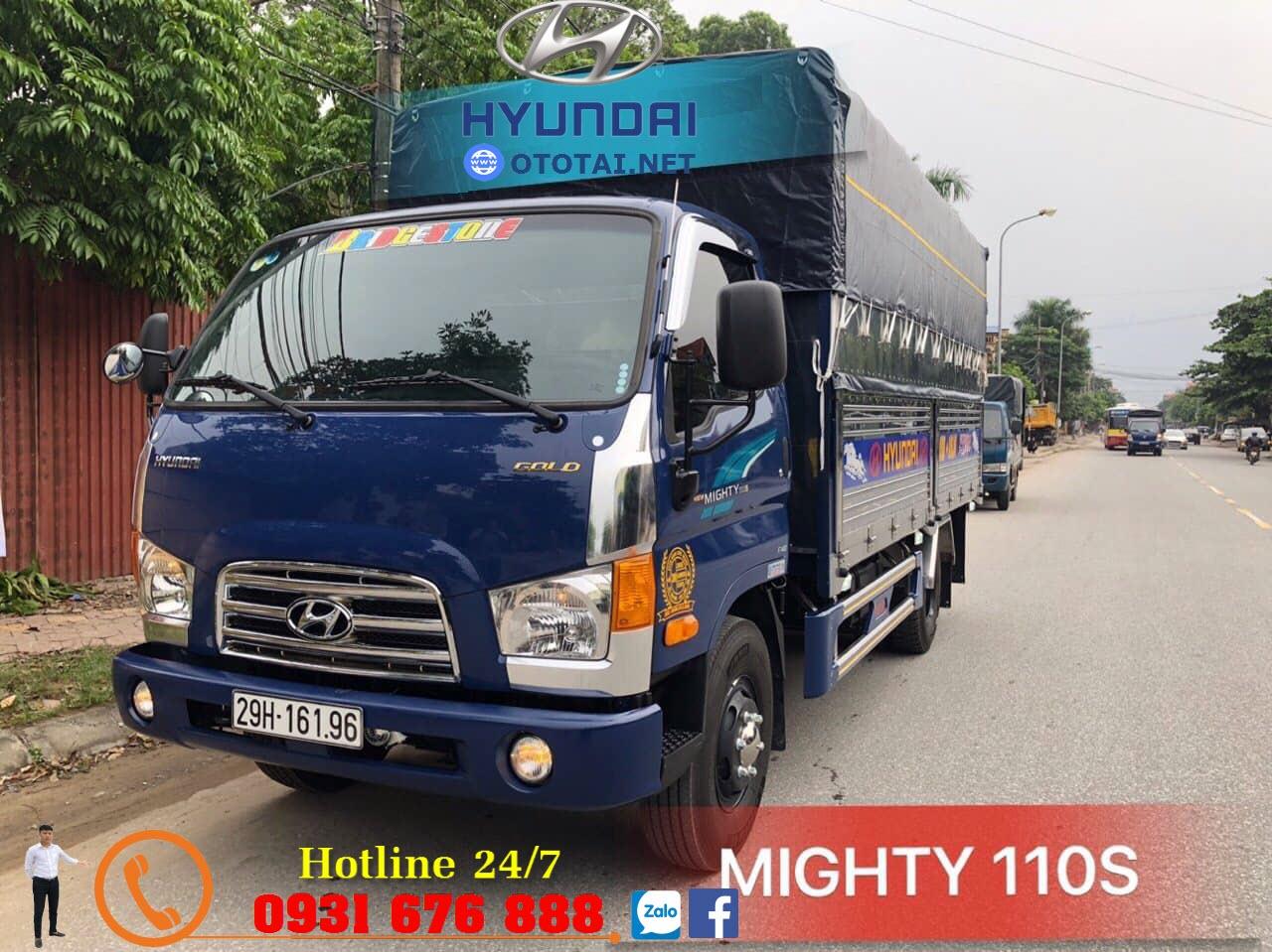 xe tải mighty 110s thành công