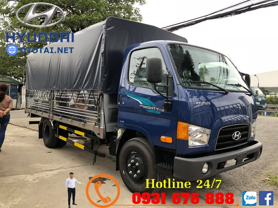 thùng xe hyundai mighty 110s