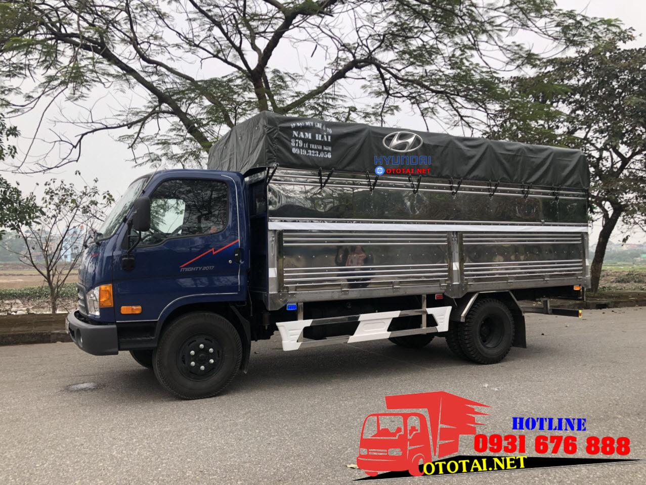 xe tải hyundai mighty 2017 8 tấn thành công