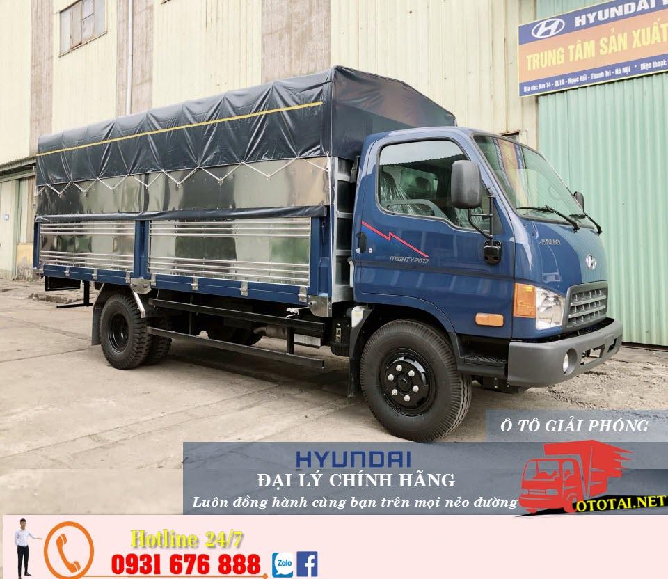 xe tải 2017 thung mui bat