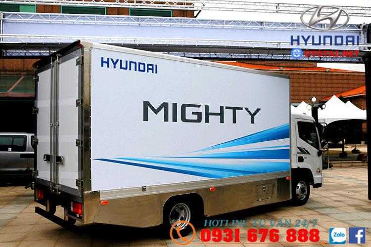 ngoại thất xe tải hyundai ex6