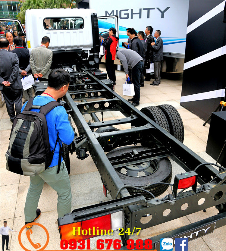 xe mighty ex8l ra mắt tại việt nam