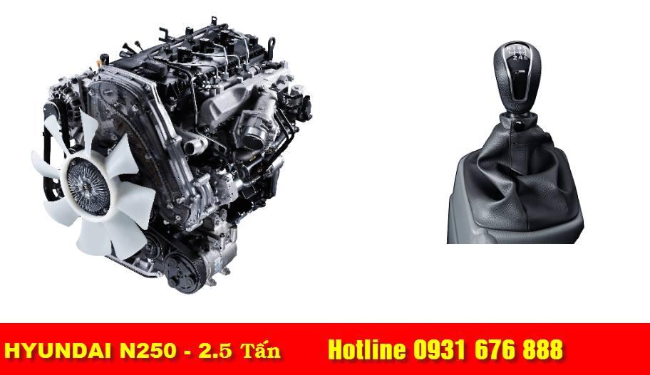 động cơ xe tải hyundai n250 thành công