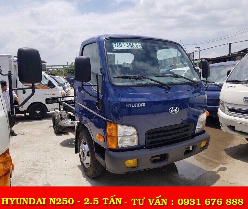 xe tải hyyundai mighty n250 thành công