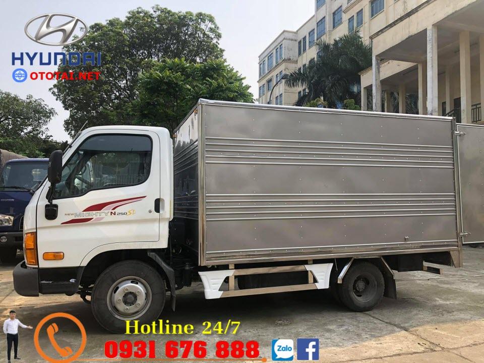 xe tải hyundai mighty n250sl thùng kín