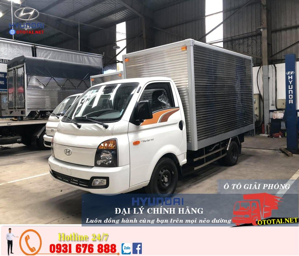 xe tải hyundai h150 thùng kín