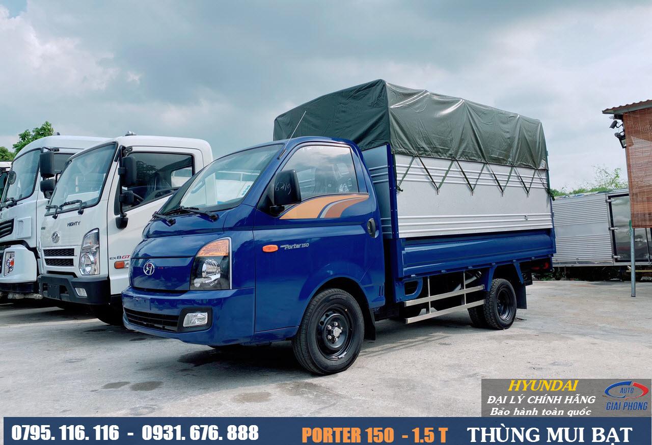 xe tải hyundai 1.5 tấn porter 150