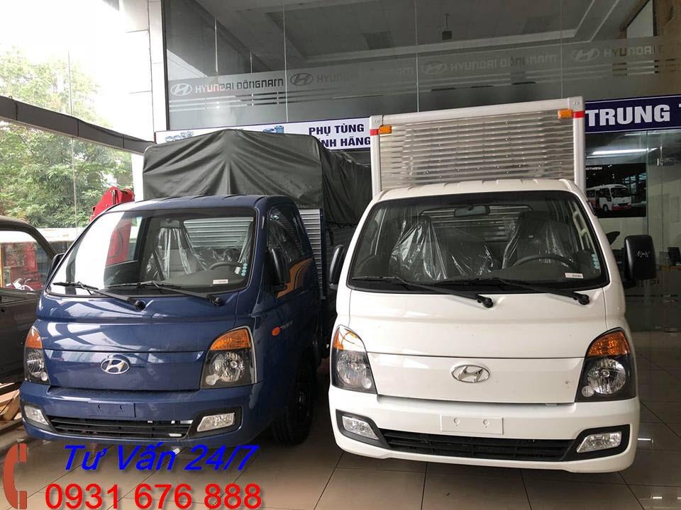 thùng xe tải hyundai h150