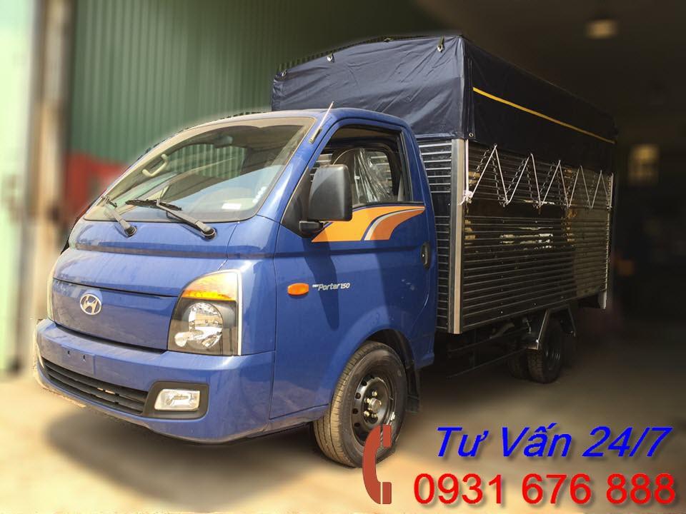 xe tải hyundai 1.5 tấn H150 Porter