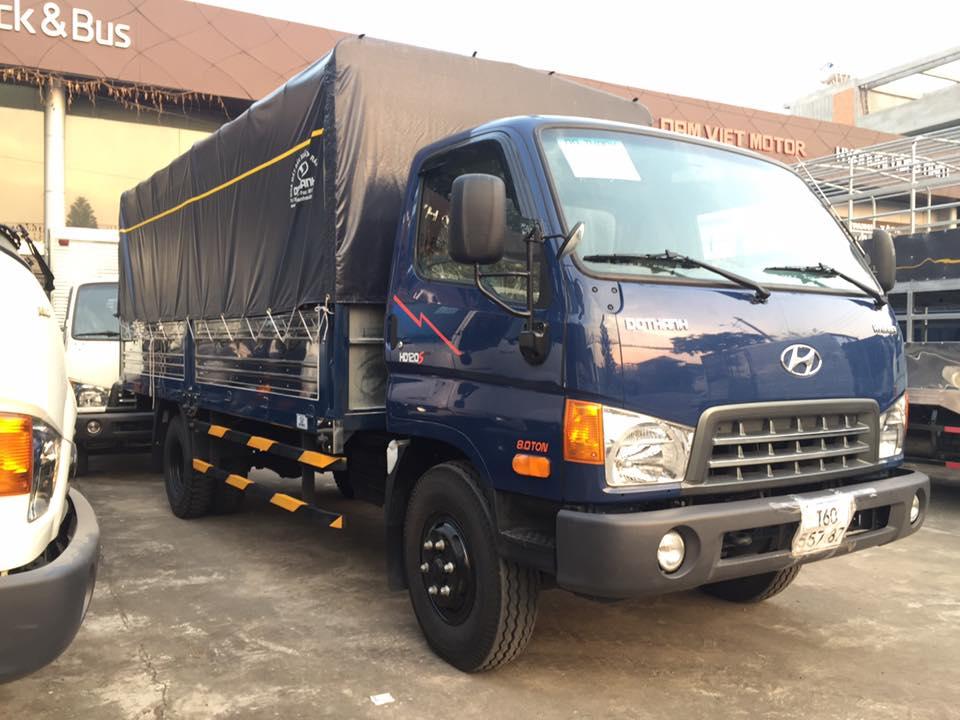 xe nâng tải 8 tấn đô thành hd120s