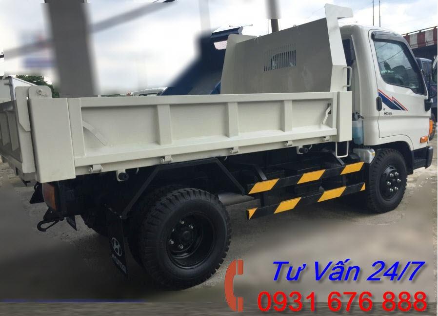 xe tải ben hd65