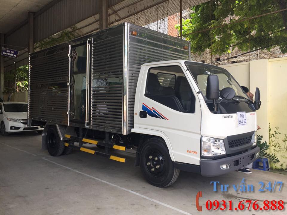 xe tải đô thành iz49 thùng kín