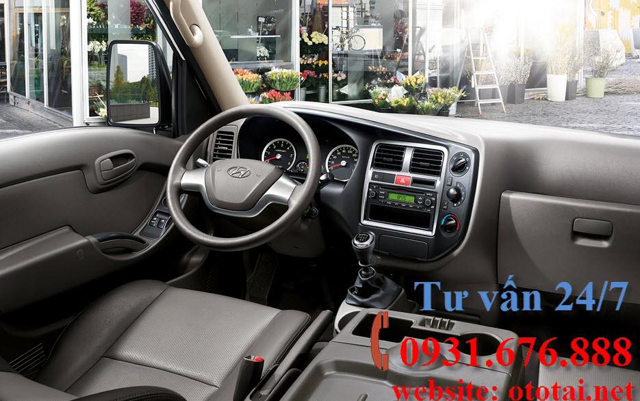 nội thất xe tải Hyundai h150