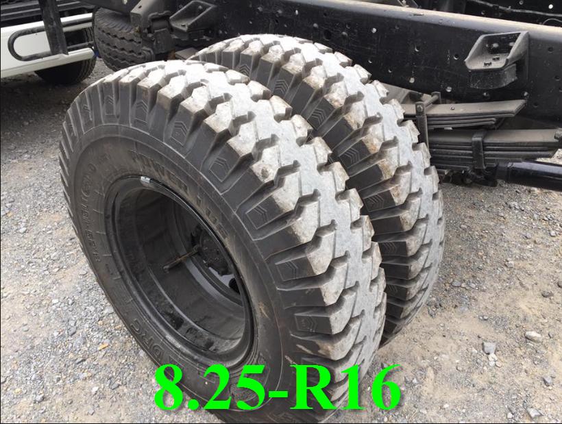 lốp xe nâng tải 8 tấn hyundai đô thành hd120s