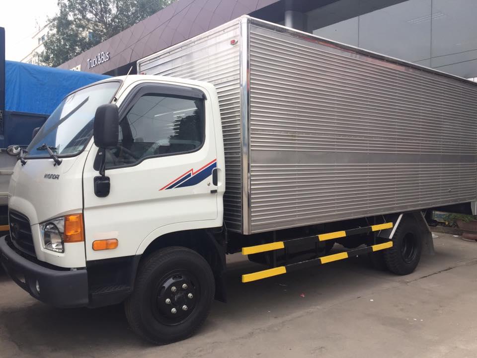 xe nâng tải 8 tấn hyundai đô thành hd120sl thùng 6m2